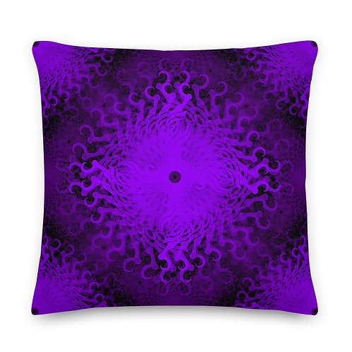 11F21 Spectrum Amethyst Premium Pillow