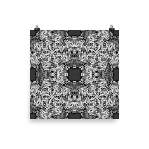 140 Oddflower Tile 2021 | Matte finish Print