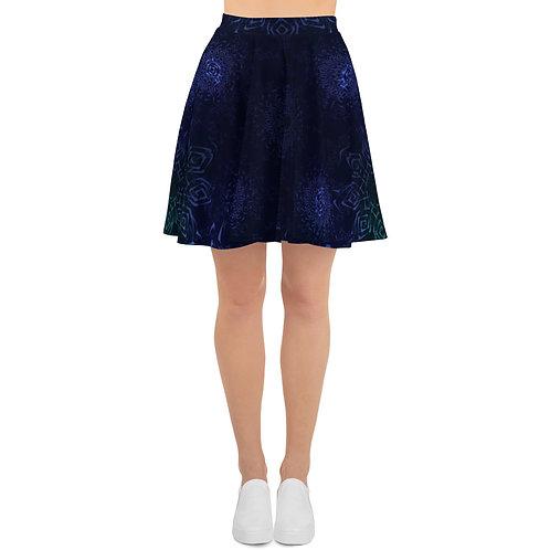 117 Hypnosis Colorwild II V2 Skater Skirt