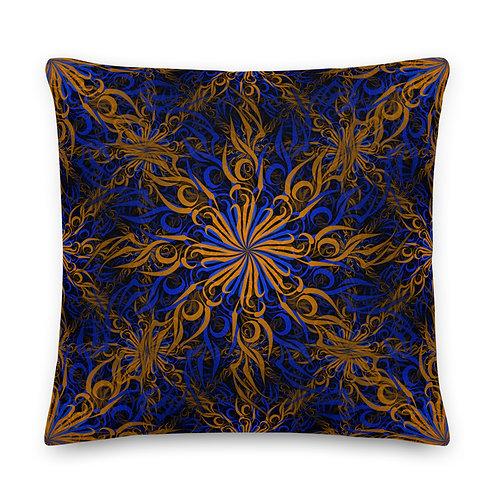 17CH21 Spectrum Candy Golden Premium Pillow