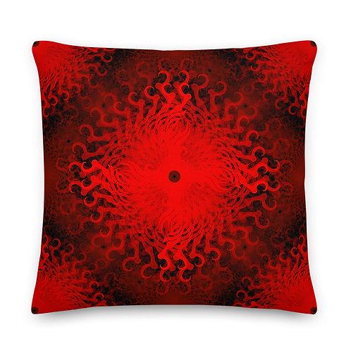 11C21 Spectrum Ruby Premium Pillow