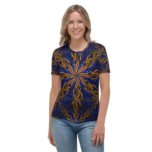 17CH21 Spectrum Golden Women's T-shirt