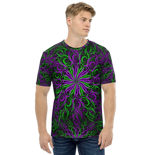 17F21 Spectrum Amethyst Grape Men's T-shirt
