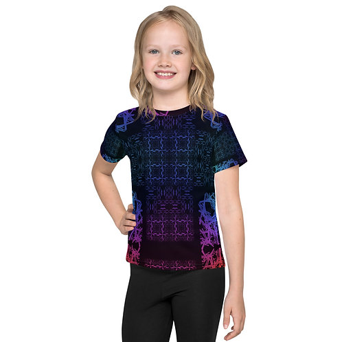 120V1 Barb Wire Colorwild I Kids T-Shirt