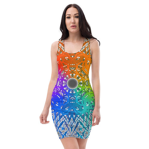 1G21 Spectrum Gray wowg Sublimation Cut & Sew Dress