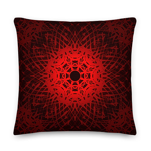 1V21 Spectrum Ruby Premium Pillow