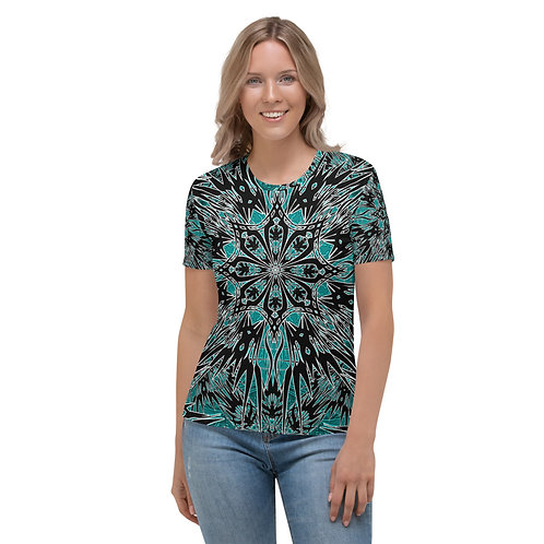 24K21 Oddflower Jade Vine Women's T-shirt