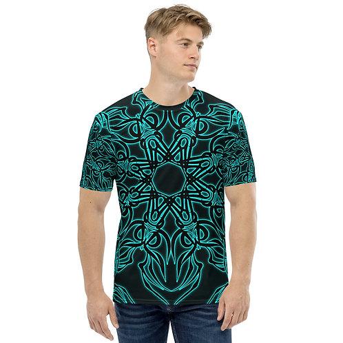 19X21 Neon Caribbean Club Men's T-shirt