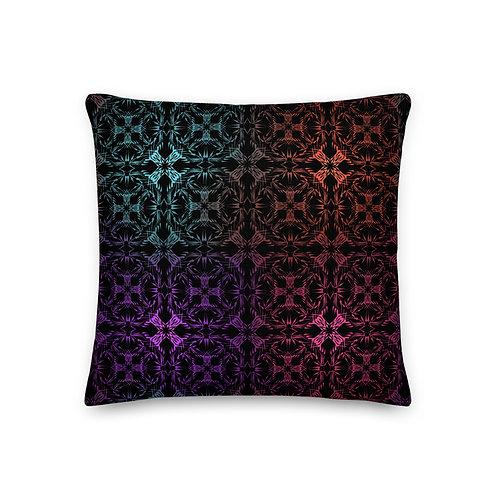 13 Multicolor Crossings I Premium Pillow