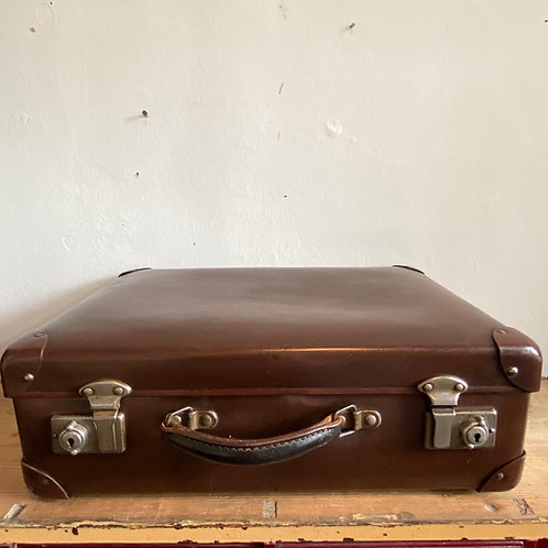 Small Vintage Globe Trotter Suitcase