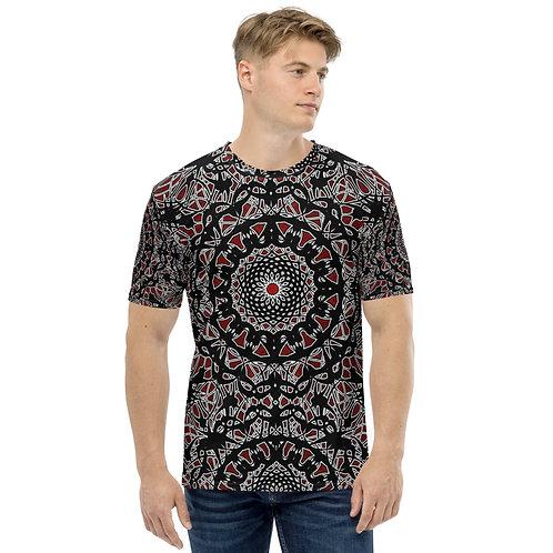 23I21 Oddflower Rose Men's T-shirt