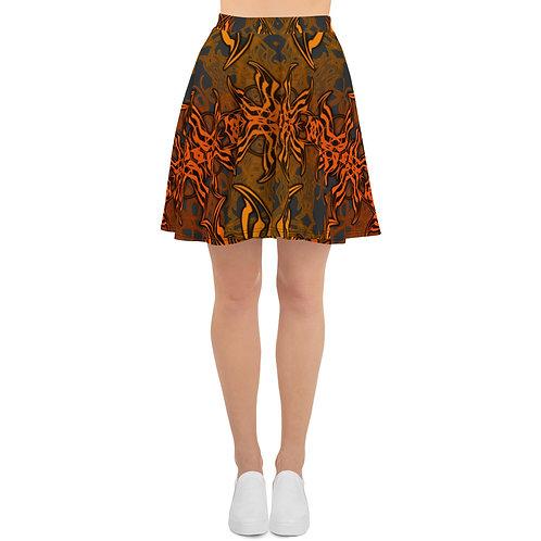 7C21 Spectrum Gray V3 Skater Skirt