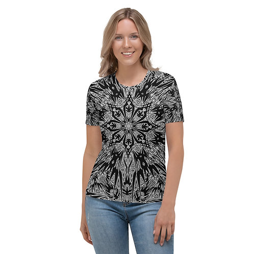 24G21 Oddflower Dahlia Women's T-shirt