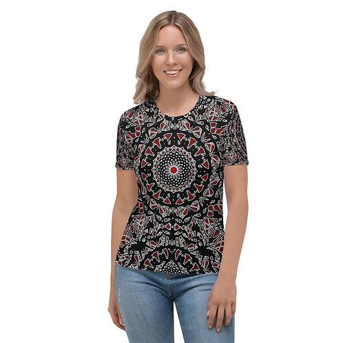 23I21 Oddflower Rose Women's T-shirt