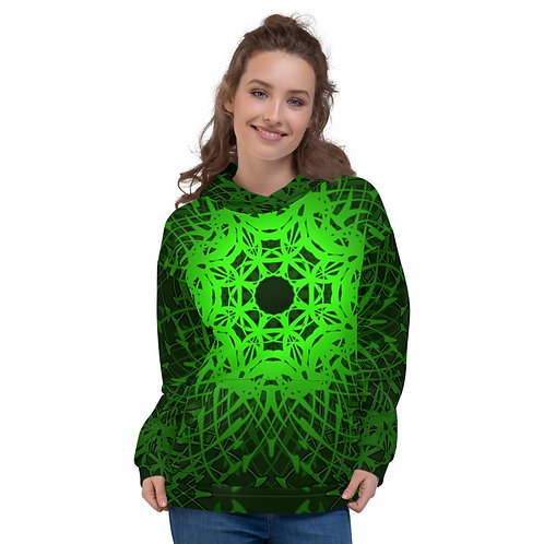 1X21 Spectrum Green Unisex Hoodie