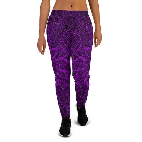 20Q21 OddSpectrum Violet Women's Joggers