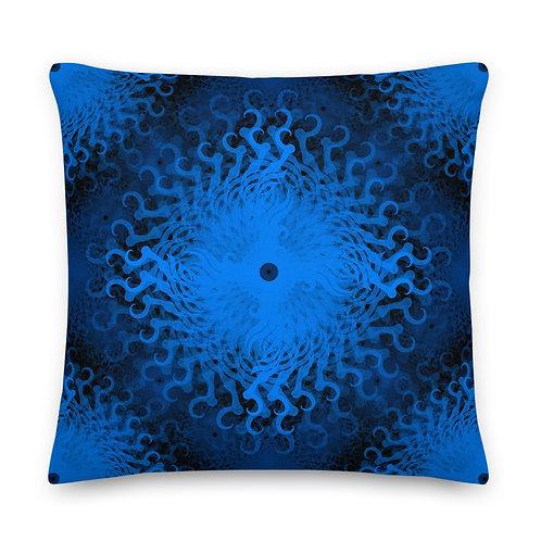 11E21 Spectrum Aquamarine Premium Pillow