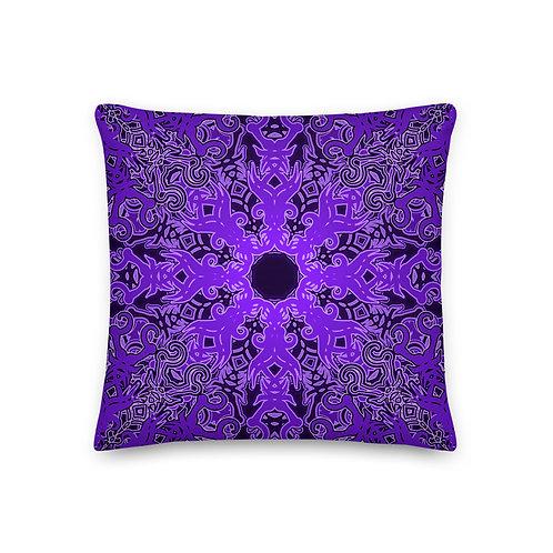 12Z21 Spectrum Violet Premium Pillow
