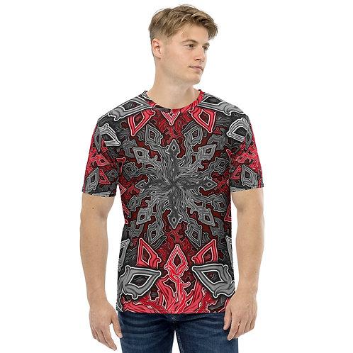 13H21 Oddflower Rose Men's T-shirt