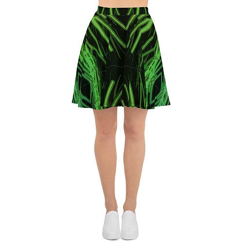 3A21 Spectrum Black V4 Skater Skirt