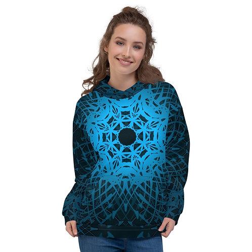 1Y21 Spectrum Blue Unisex Hoodie