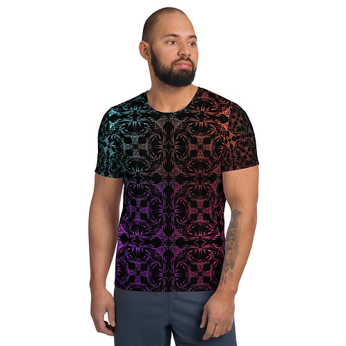 13 MCI All-Over Print Men's Athletic T-shirt