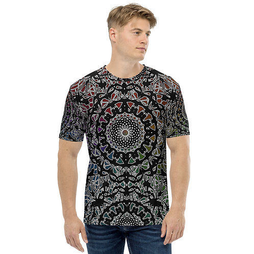 23M21 Oddflower Paradise Men's T-shirt