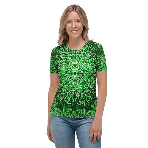 9X21 Spectrum Green Women's T-shirt