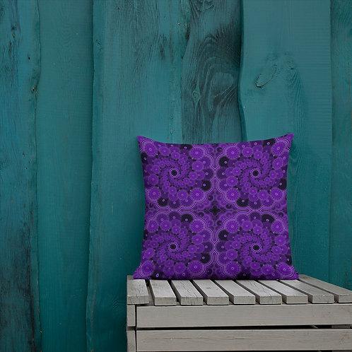 5Z21 Spectrum Violet Premium Pillow