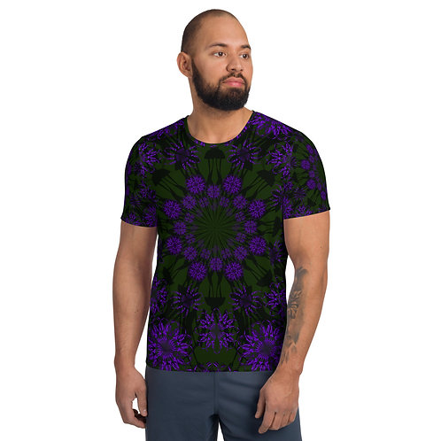 54T 2020 All-Over Print Men's Athletic T-shirt