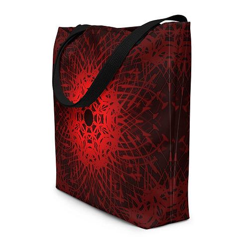 6V21 Spectrum Red Beach Bag
