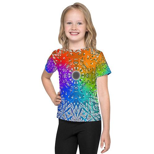 1G21 Spectrum Gray wowg Kids T-Shirt