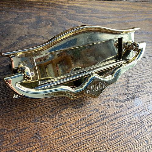 Edwardian Brass Letter Box