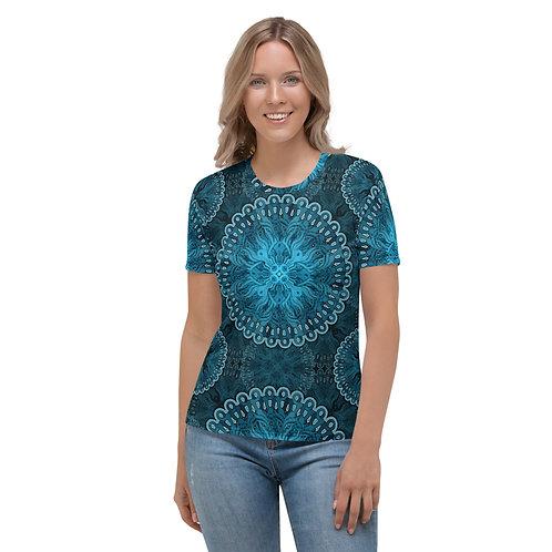 10P21 OddSpectrum Blue Women's T-shirt
