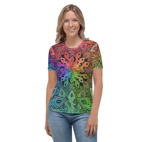 13A21 OddSpectrum Colorwild Women's T-shirt