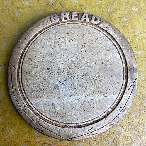 Vintage Carved Bread Board