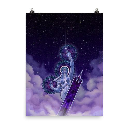 Ride the Lightning | Matte finish Print