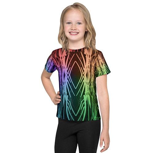 3A21 Spectrum Black Kids T-Shirt