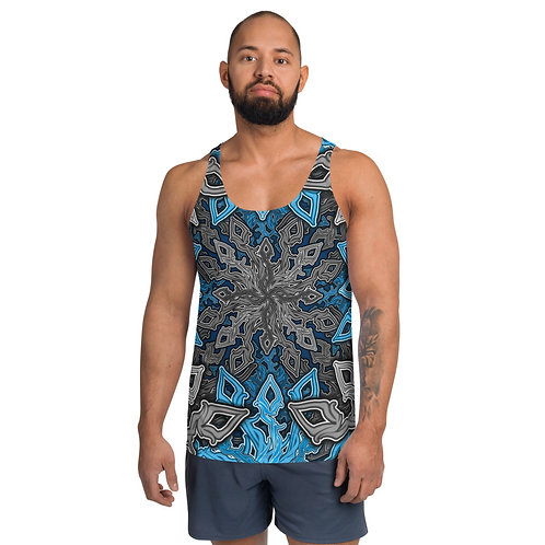 13L21 Oddflower Hydrangea Unisex Tank Top