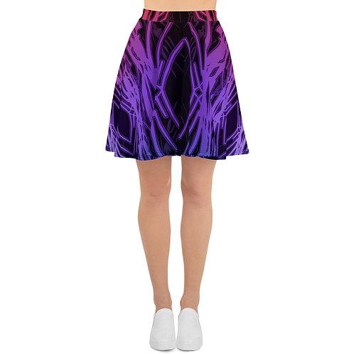 3A21 Spectrum Black V1 Skater Skirt