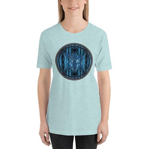Pegasus Nimbus Blue Portal Short-Sleeve Unisex T-Shirt