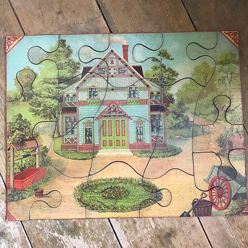 Antique Wooden Jigsaw