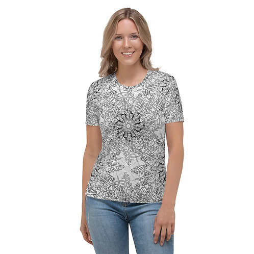 20H21 Oddflower Lily Women's T-shirt