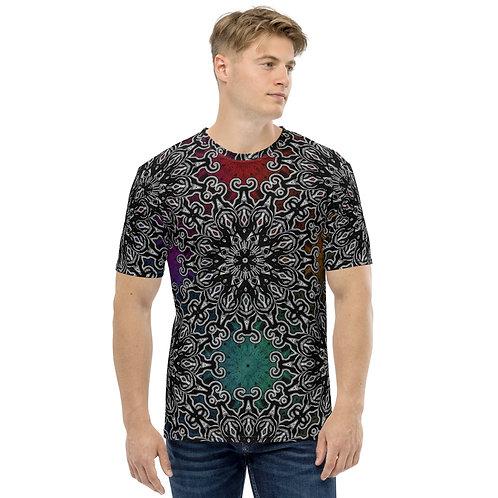 10M21 Oddflower Paradise Men's T-shirt