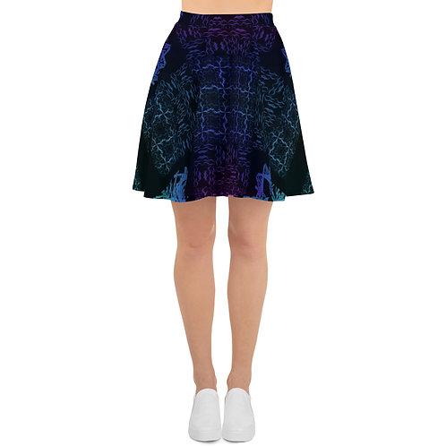 120 Barb Wire Colorwild I V5 Skater Skirt