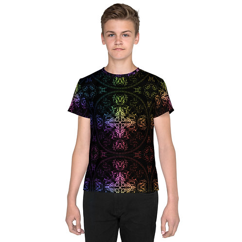 140 Wind Compass Colorwild Youth T-Shirt