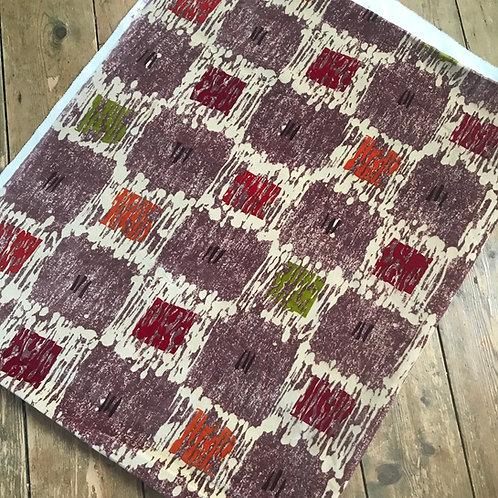 Vintage Cotton  Velvet Fabric