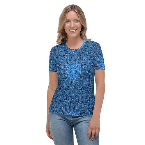16P21 OddSpectrum Blue Women's T-shirt