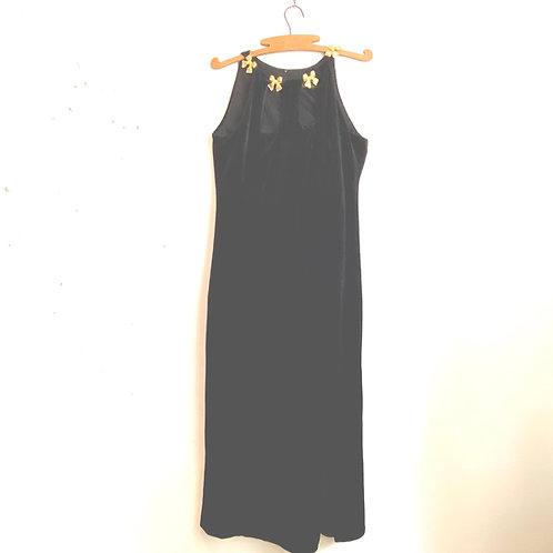 Vintage Velvet Velour Gina Bacconi Dress