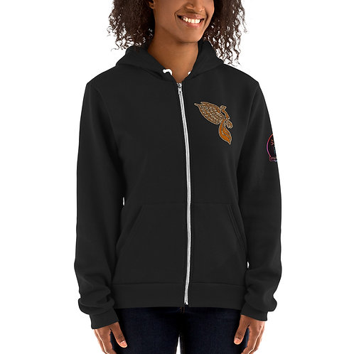 The Dove Gold Portal Hoodie sweater